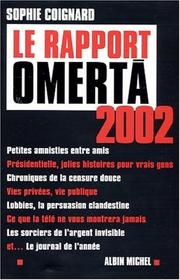Cover of: Le Rapport Omerta 2002