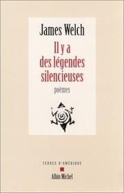 Cover of: Il y a des legendes silencieuses