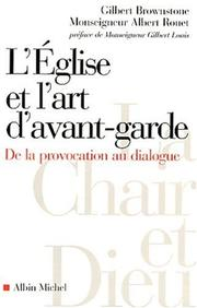Cover of: L'Eglise et l'Art d'avant-garde
