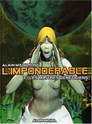 Cover of: L'Impondérable, tome 3