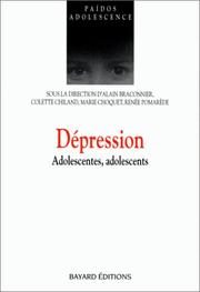 Cover of: Dépression