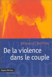 Cover of: De la violence dans le couple