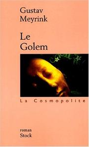 Cover of: Le Golem
