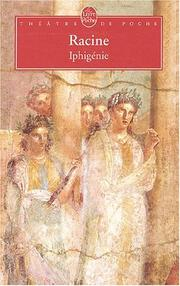Cover of: Iphigenie