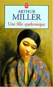 Cover of: Une fille quelconque