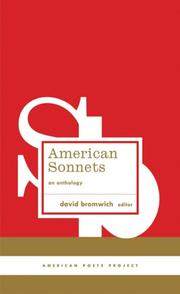 Cover of: American Sonnets