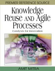 Cover of: Knowledge reuse and agile processes