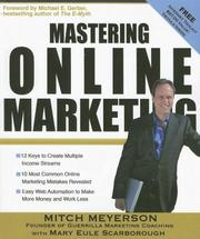 Cover of: Mastering online marketing