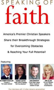 Cover of: Speaking of Faith