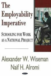 Cover of: The Employability Imperative