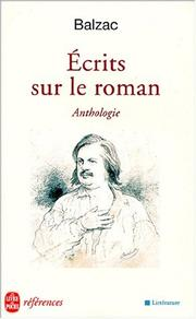 Cover of: Ecrits sur le roman