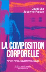 Cover of: La composition corporelle