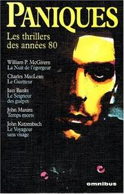 Cover of: Paniques