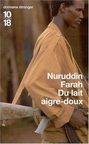 Cover of: Du lait aigre-doux