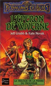 Cover of: La Trilogie de la pierre du trouveur, tome 2
