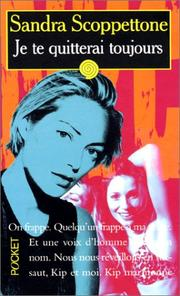 Cover of: Je te quitterai toujours