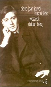 Cover of: Wozzeck d'Alban Berg