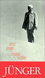 Cover of: Chasses subtiles
