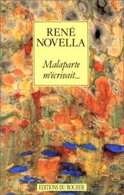 Cover of: Malaparte m'écrivait--