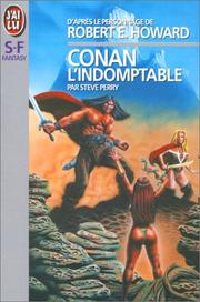 Cover of: Conan the indomitable