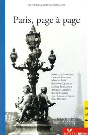 Cover of: Paris, Page a Page (Lectures Contemporaines)