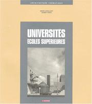 Cover of: Universités