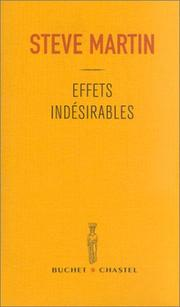 Cover of: Effets indésirables
