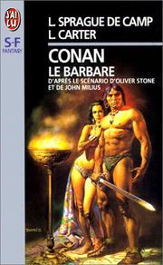 Cover of: Conan le barbare