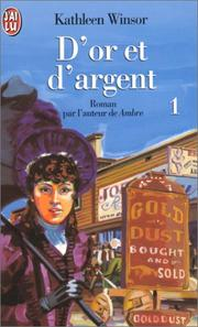 Cover of: D'or et d'argent, tome 1
