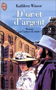 Cover of: D'or et d'argent, tome 2