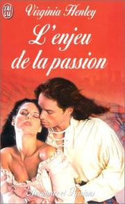 Cover of: L'Enjeu de la passion