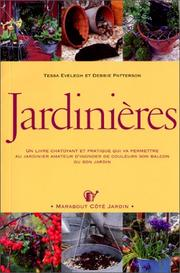 Cover of: Jardinières
