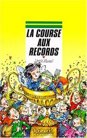 Cover of: La course aux records