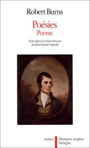 Cover of: Poésies =: poems