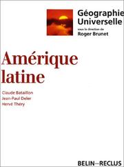 Cover of: Amérique latine