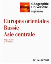 Cover of: Europes orientales, Russie, Asie centrale