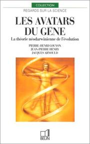 Cover of: Les avatars du gène