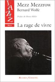 Cover of: La Rage de vivre
