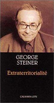 Cover of: Extraterritorialité