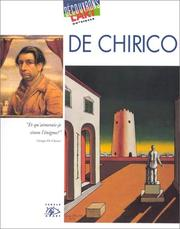 Cover of: De Chirico, 1888-1978