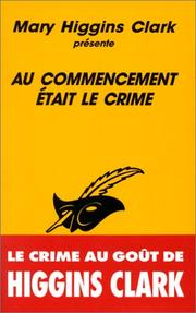 Cover of: Au commencement était le crime