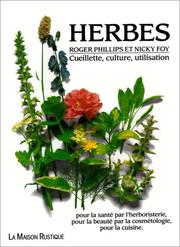 Cover of: Herbes