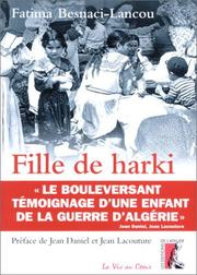Cover of: Fille de harki