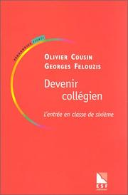 Cover of: Devenir collégien