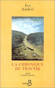 Cover of: La chronique de travnik