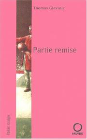 Cover of: Partie remise
