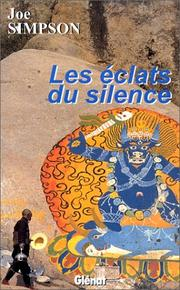 Cover of: Les Eclats du silence