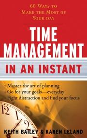 Cover of: Time Management In an Instant