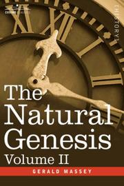 Cover of: The Natural Genesis, Volume II