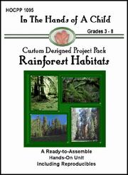 Cover of: Rainforest Habitats (In the Hands of a Child: Custom Designed Project Pack) (In the Hands of a Child: Custom Designed Project Pack)